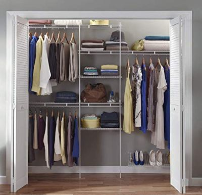 ClosetMaid Closet Organizer Kit with Shoe Shelf