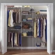 ClosetMaid Closet Organizer Kit with Shoe Shelf