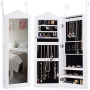 Giantex Wall Door Jewelry Cabinet Mounted