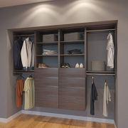 Modular Closets 8 FT Plywood Closet Organizer System