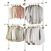 PRINCE HANGER, One Touch Double 2 Tier Adjustable Hanger