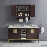 Yaheetech Bathroom/Kitchen Wall Storage Cabinet Collection Wall
