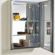 KOHLER 20 inch x 26 inch Aluminum Bathroom Medicine Cabinet