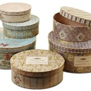WHW Whole House Worlds Belle Fleur Stackable French Box Collection of 6