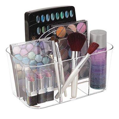 mDesign Plastic Makeup Storage Organizer Caddy Tote
