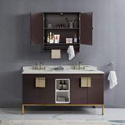 Wall Mounted Medicine Cabinet Kitchen/Bathroom Wooden