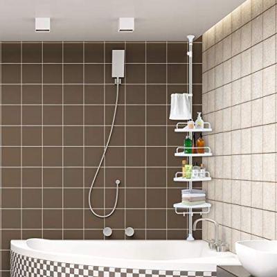 YEETE HOME Adjustable Constant Corner Shower Caddy