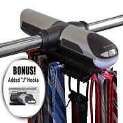 ClosetMate Motorized Tie Rack - Battery Operated Electric tierack