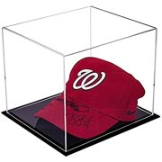Acrylic Deluxe Clear Display Case - Small Rectangle Box