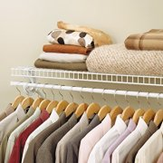 ClosetMaid Super Slide Ventilated Shelf Kit with Closet Rod