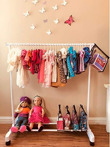 Boottique Child Garment Rack- Kids Closet Organizer
