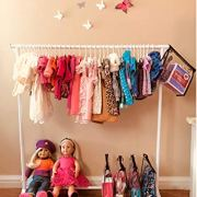 Boottique Child Garment Rack- Kids Closet Organizer