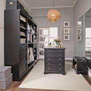 Bedford Black 5 Piece Closet/Storage System Organizer