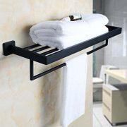 Alise Bathroom Towel Rack/Rail Holder Towel Shelf Hanger Wall Mount