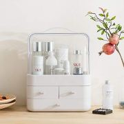 WONLINE Makeup Organizer, Modern Cosmetic Organizer Makeup Storage