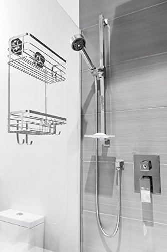 Vidan Home Solutions Shower Caddy   Stainless Steel