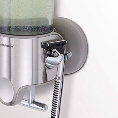simplehuman Triple Wall Mount Shower Pump, 3 x 15 fl. oz. Shampoo