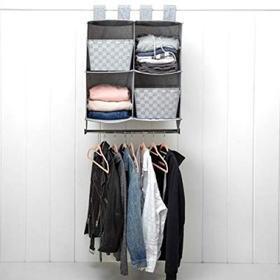 Dormify Cube Closet Organizer with Hanging Rod