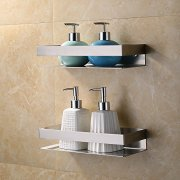 Kes Bathroom Shelf Stainless Steel Bath Shower Shelf Basket Caddy