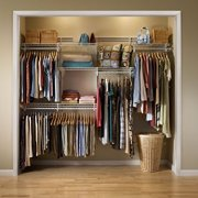 ClosetMaid ShelfTrack Closet Organizer Kit