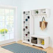 Prepac Shoe Storage Cabinet, 36 Pair Rack, White