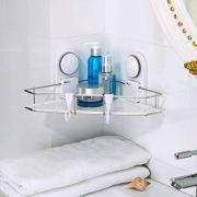 Chuanmao Corner Shelf Bathroom Shelves Triangle Stainless Steel
