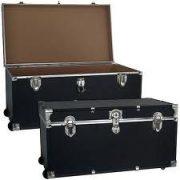 Mercury Luggage Wheeled Storage Locker, Black