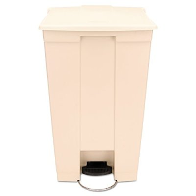 Rubbermaid Commercial HDPE Step-On Mobile Trash Can