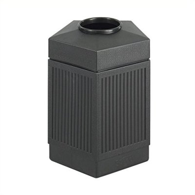 Safco Products Canmeleon Outdoor/Indoor Open Top Pentagon Trash