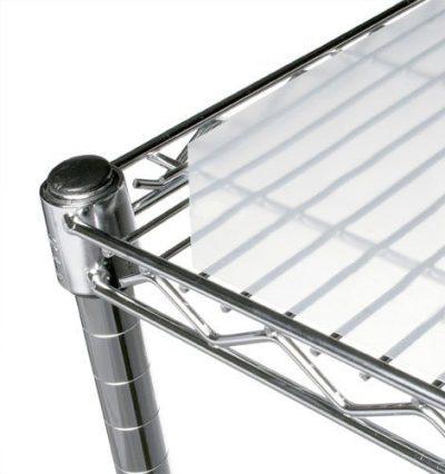 "Chadko LLC 14"" x 36"" Translucent Wire Shelf Liner"