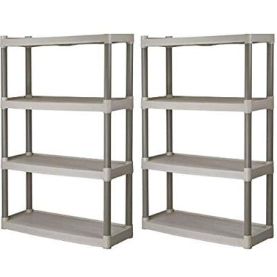 Plano 4-Shelf Heavy Duty Plastic Storage Unit