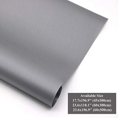 Hersvin Shelf Liners 23.6x196.9 Inch Non-Slip Non-Adhesive Waterproof