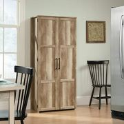 Sauder Homeplus Storage Cabinet, Lintel Oak Finish