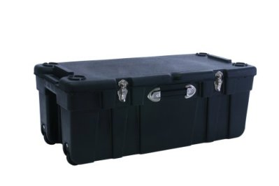 J. Terence Thompson Large 37-by-17-1/2-by-14-Inch Wheeled Storage Trunk