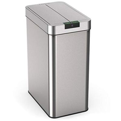 hOmeLabs 13 Gallon Automatic Trash Can for Kitchen