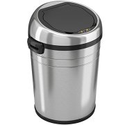 iTouchless 18 Gallon Commercial Size Touchless Sensor Trash Can