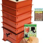 Worm Factory 5-Tray Worm Composting Bin + Bonus