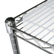 "Chadko LLC 18"" x 30"" Translucent Wire Shelf Liner"