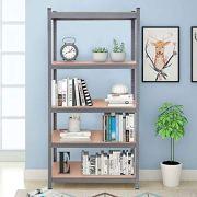 "Tangkula 72"" Storage Shelves, Heavy Duty Steel Frame 5-Tier Garage Shelf"