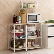 Mr IRONSTONE Kitchen Baker's Rack Utility Storage Shelf