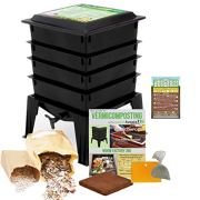 Worm Factory 360 Worm Composting Bin + Bonus What Can Red Wigglers Eat?
