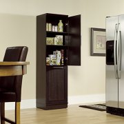 """Sauder Homeplus Storage Cabinet, L: 18.82"""" x W: 17.01"""" x H: 71.18"""""""