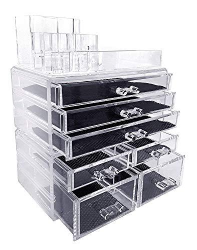 Makeup Organizer, Make up Organizers and Storage Box
