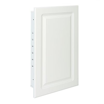 American Pride - Recessed White Raised Panel Door