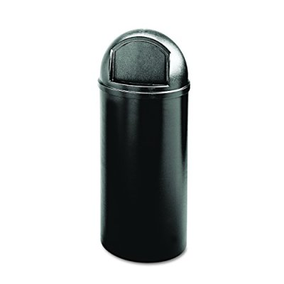 Rubbermaid Commercial Marshall Classic Trash Can, Round