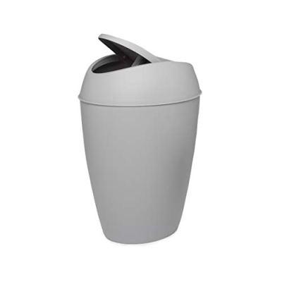 Umbra Twirla, 2.4 Gallon Trash Can with Swing-top Lid