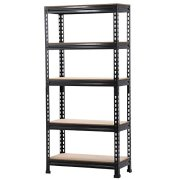 go2buy 5 Tier Storage Rack Heavy Duty Shelf Steel Shelving Unit