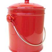 Natural Home Cherry Ceramic Compost Bin