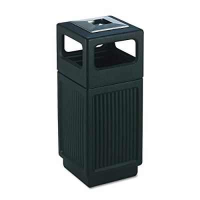 Safco Products Canmeleon Outdoor/Indoor Recessed Panel Trash Can