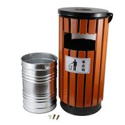 BEAMNOVA Trash Can Outdoor Garbage Enclosure with Locking Lid